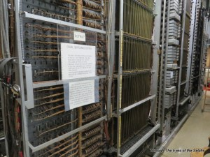Panel switching system designed in 1914 to route calls and provide dial tone