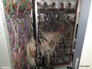 This is the inside wiring of a Control Data computer from twenty years ago