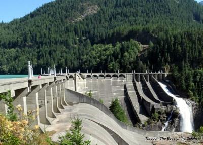 Find Diane on the Diablo dam?