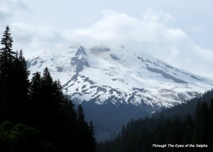 Mount Baker as viewed from the south