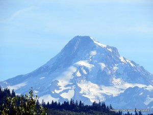 Zoomed view of Mt. Hood