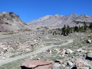 Trailhead for MT Shasta starting at 7,900 FT