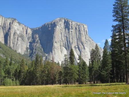 7,569 FT El Capitan has a 3,000 vertical face