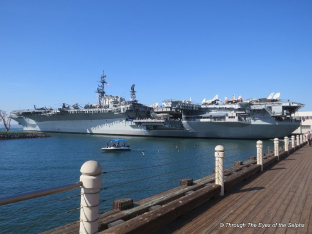 USS Midway was an aircraft carrier of the United States Navy, the lead ship of her class. Commissioned a week after the end of World War II, Midway was the largest ship in the world until 1955,