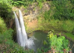 Wailua falls of Kauai