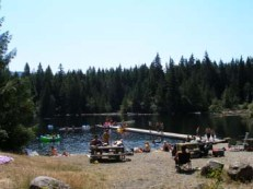 Lizard Lake 18km NE of Port Renfrew, BC