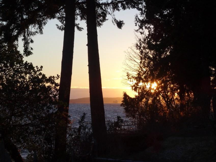 sunrise on stuart channel
