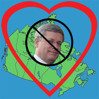 I love no Harper in Canada
