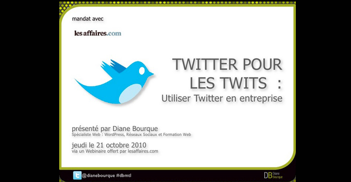 Twitter pour les Twits : Utiliser Twitter en entreprise