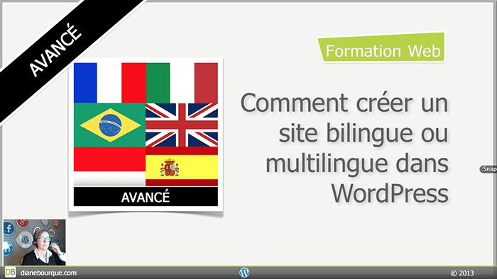 Comment créer un site bilingue ou multilingue dans WordPress avec WPML