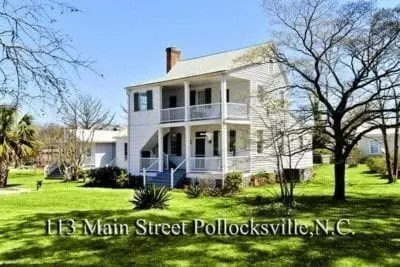 homes for sale in Pollocksville NC