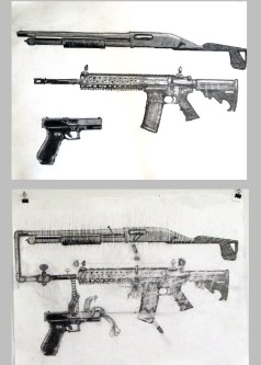 interactive gun drawings