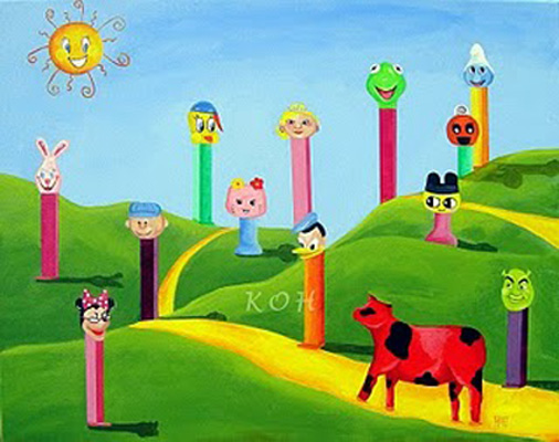 The Land of Pez