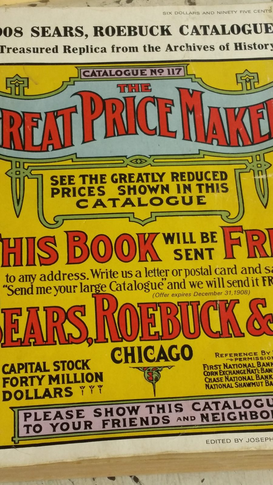 1908 Sears Roebuck Catalog