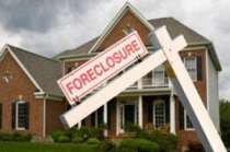 foreclosures down