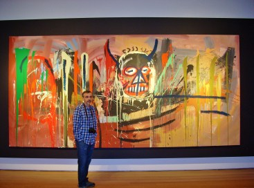 Christies Chris with Basquiat