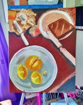 Lemons Lemons Painting