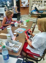 Ann and Lisa Painting