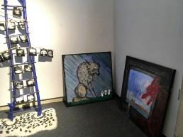Summer Exhibit Wolf in Center