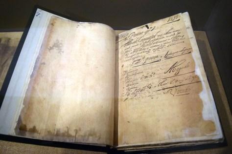 12. Luis De Carvajal the Younger Inquisition Records Mexico 1599 DSC_0207