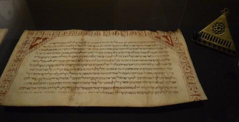 17. Ketubah Tudela Spain Aug 18 1300 CE. DSC_0178