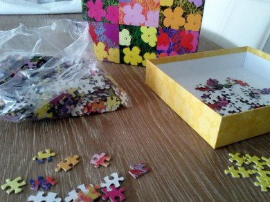 Time to work on my yearly puzzle