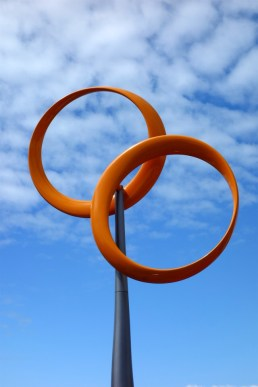 Redcliffe Wind sock circles.