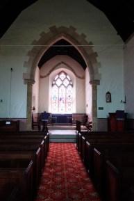 St. John the Baptist, Buckland, inside