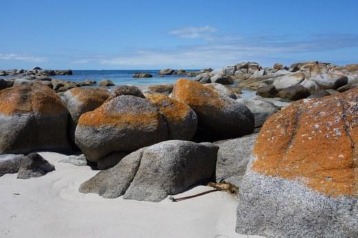 Bay of Fire red rocks 1