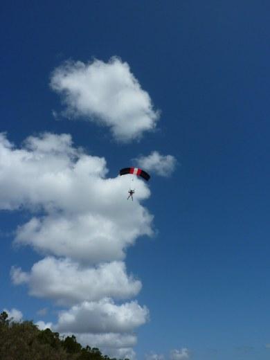 sailing through the sky
