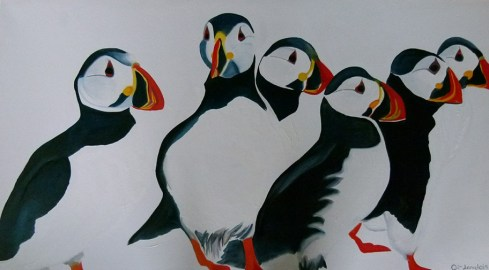The Puffin Club Faroe Islands 36x50