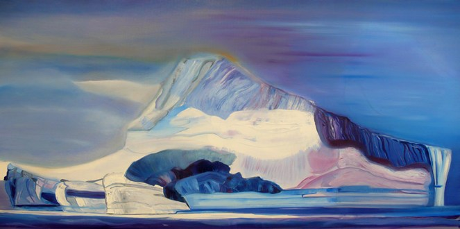 BergFloating Baffin Bay Western Greenland 36x72