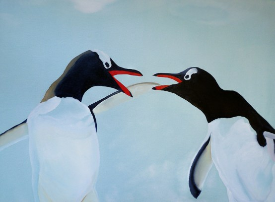 I Want A Divorce Vernadsky Station Antarctica 18 x 24