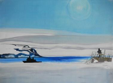 Teplitz Bay Polar Watch-Franz Josef Land-18x24