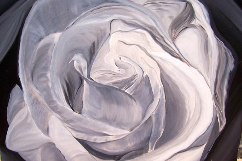A White Epiphany 36x36