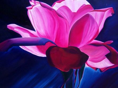 La Vie en Rose 36x36