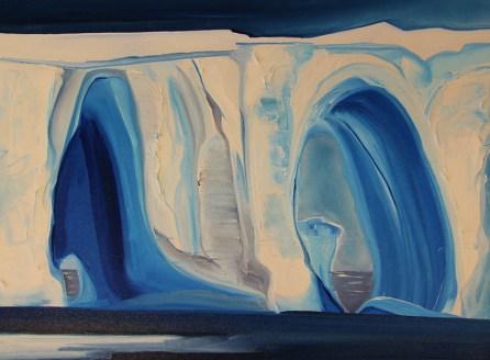 Double Trouble Iceberg 18x24