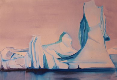 FJL Ice Towers 18x24