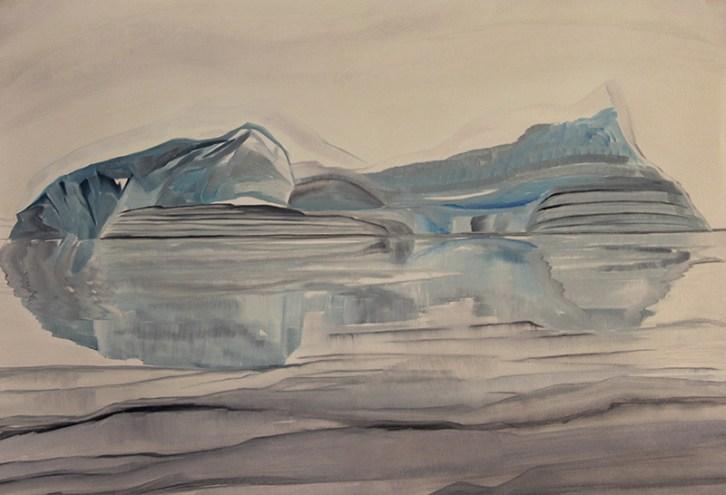 Iceberg-Reflection-Scoresby-Sound-18x24
