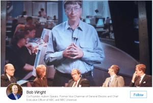 Bob Wright on Linkedin's Pulse