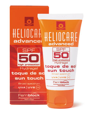 Heliocare Sun Touch Hydragel SPF 50