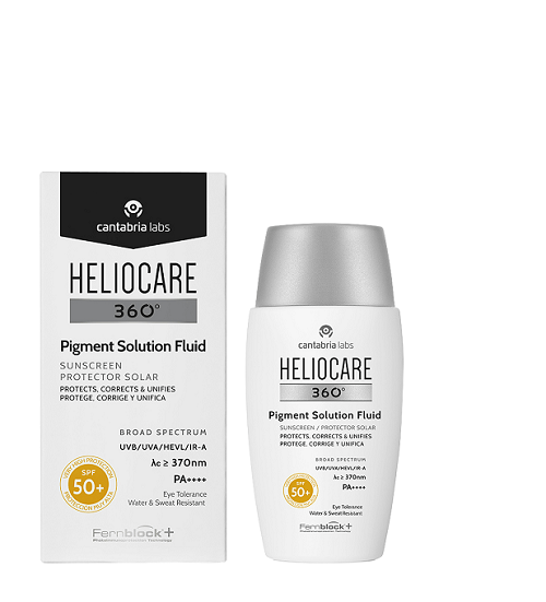 Heliocare Pigment Solution Fluid SPF50 Diane Nivern Manchester