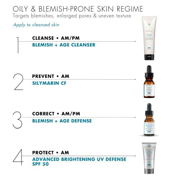 Skinceuticals SKIN CLARIFYING KIT OILY BLEMISH PRONE SKIN Diane nivern manchester