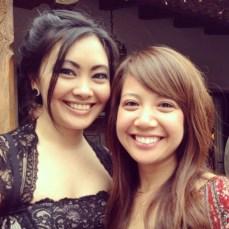 With my friend Lara