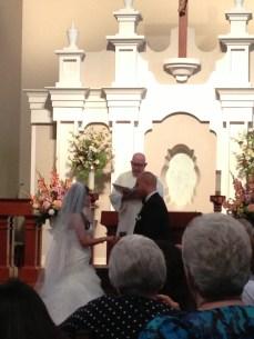 Mike and Lori's wedding