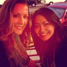 with my friend Angelina