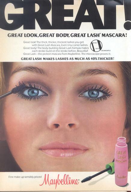 maybelline greatlash 1970s