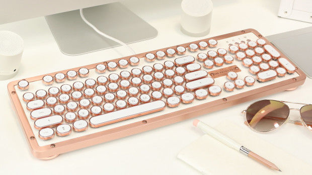 Azio Vintage Inspired Keyboard