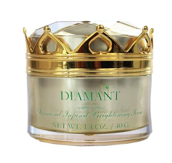 diamonds are a skin's best friend - gold and diamond infused skincare