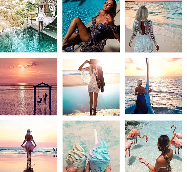 instagram content creation - trpolical theme for fashion e-commerce site